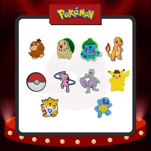 Pines para Crocs Pokémon Grupo 1