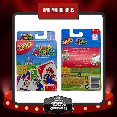 Caja Juego de Cartas UNO Super Mario