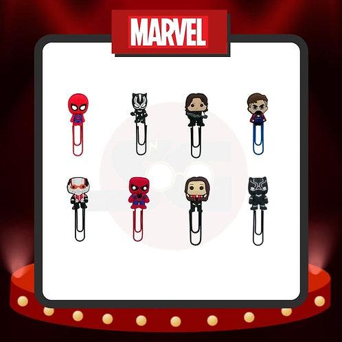Clips para marcar páginas Marvel Grupo 4