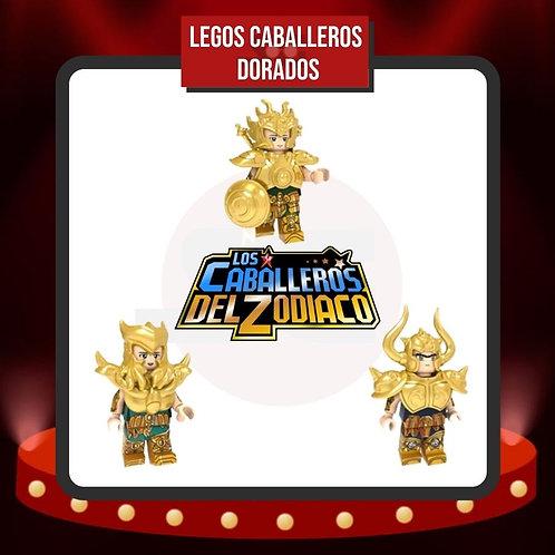 Legos Caballeros Dorados de Caballeros del Zodiaco