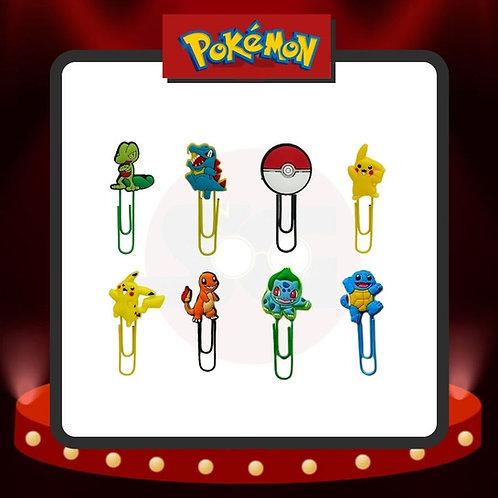 Clips para marcar páginas Pokémon