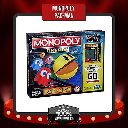 Caja Frontal Monopoly Pac-Man