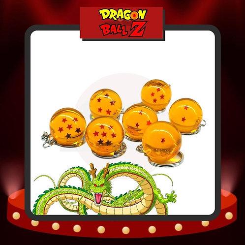 Llaveros Esferas del Dragon de Resina Dragon Ball
