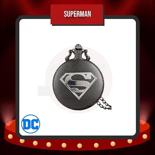 Reloj de Bolsillo Superman Cerrado de DC