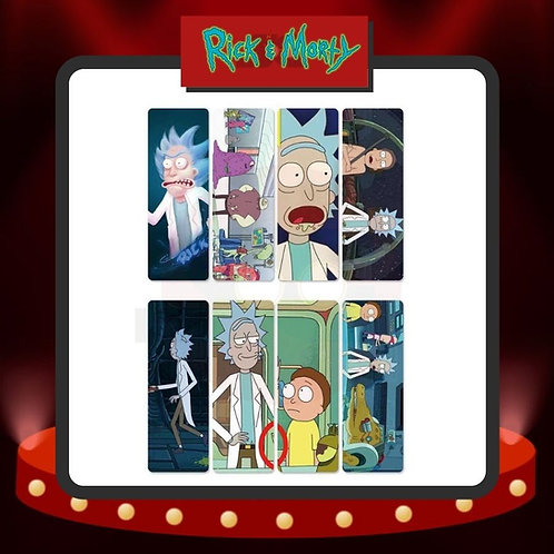 Marcapáginas PVC Rick & Morty