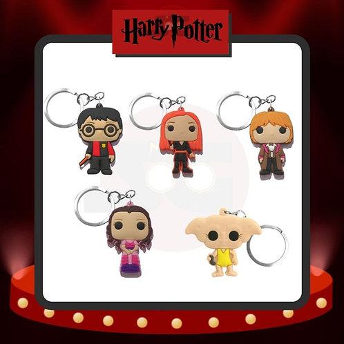 Llaveros de PVC Harry Potter Grupo 1