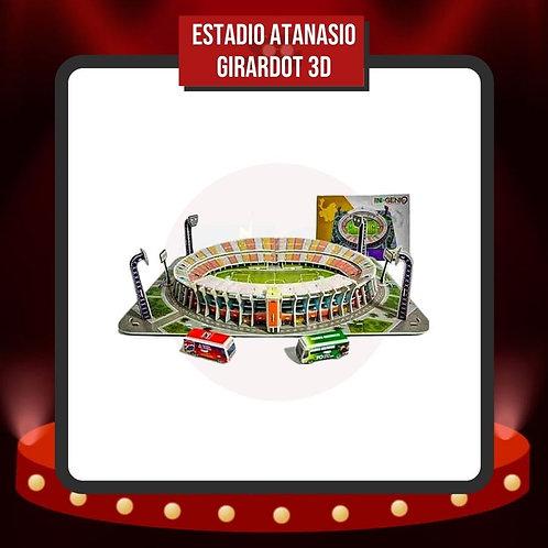 Rompecabezas 3D  Estadio Atanasio Girardot