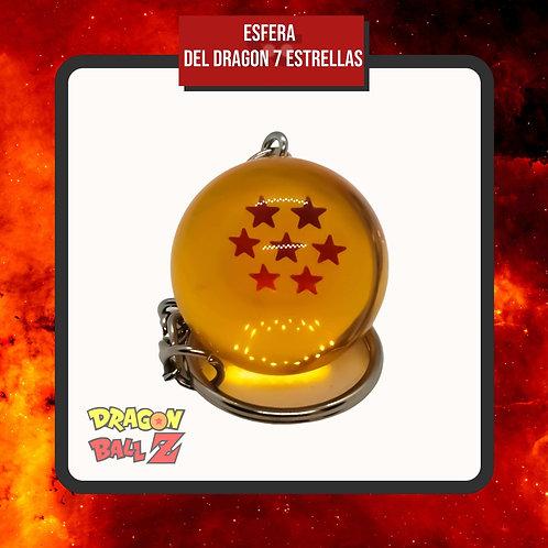 Llavero Esfera del Dragon 7 Estrellas