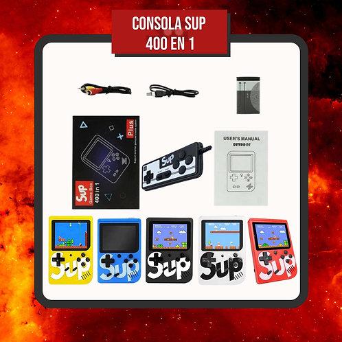 Consola Sup 400 Juegos + Control + Accesorios