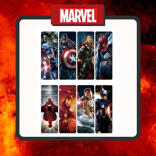 Marcapáginas Marvel 1
