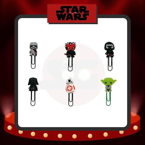 Clips para marcar páginas Star Wars Grupo 1