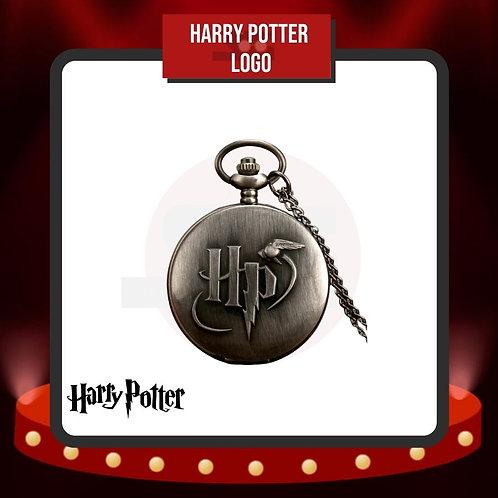 Reloj de Bolsillo Harry Potter Logo Cerrado