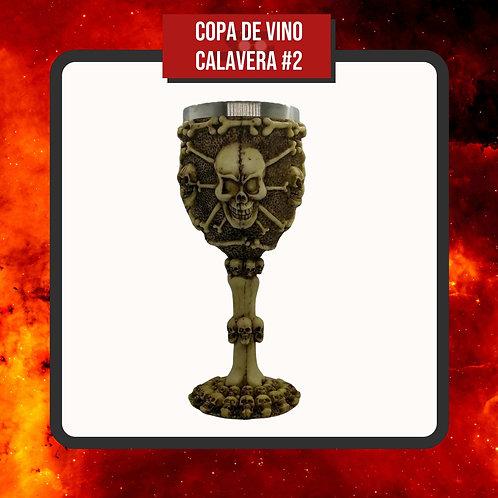 Copa de Vino Calavera #2