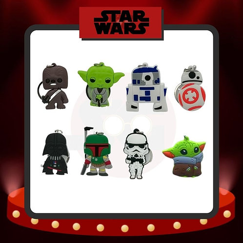 Llaveros de PVC Star Wars