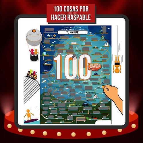 Raspando 100 Cosas por Hacer