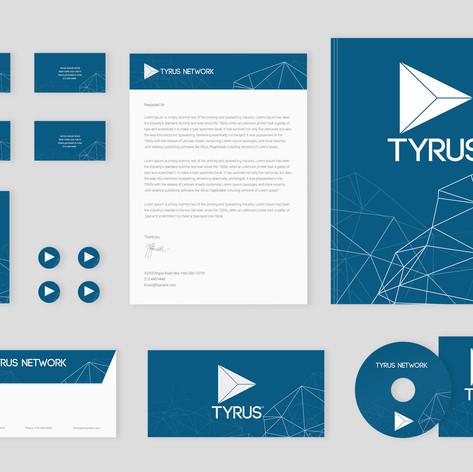 Tyrus Network Logo and Branding