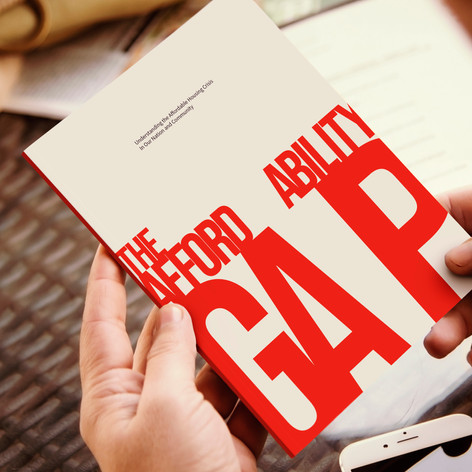The Affordability Gap Booklet Cover