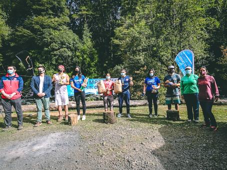 Campeonato Nacional de Slalom tuvo una excelente jornada de competencias en Pucón