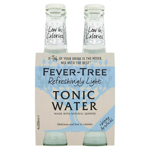 Fever-Tree Light Tonic 4x20cl pack