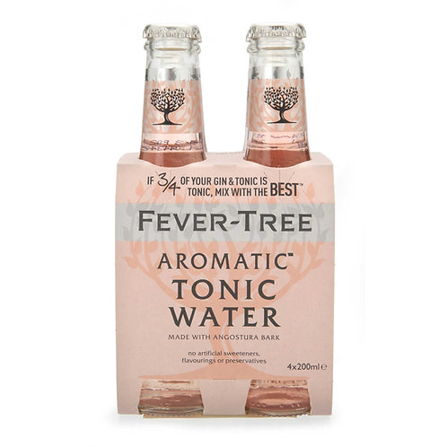 Fever-Tree Aromatic Tonic 4x20cl pack