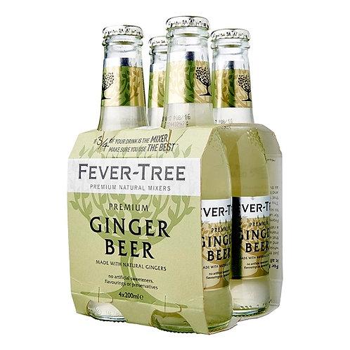 Fever-Tree Ginger Beer 4x20cl pack