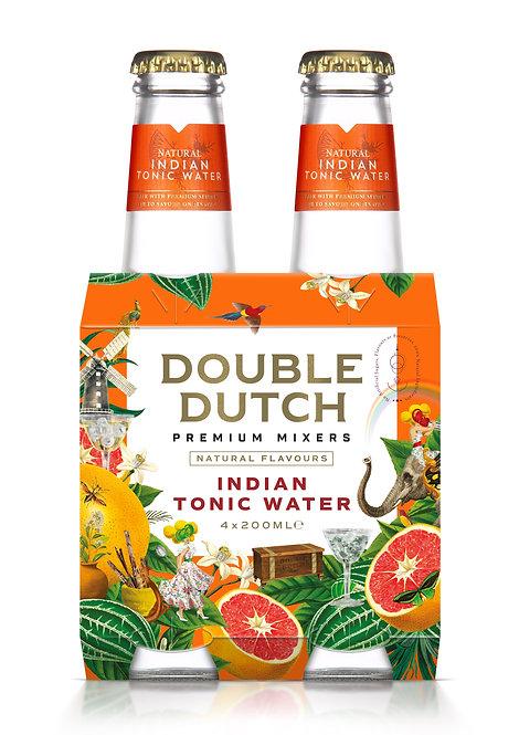 Double Dutch Indian Tonic 4-pack
