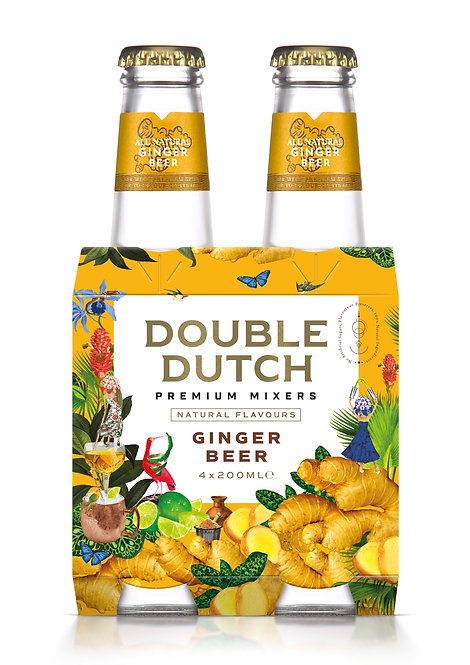 Double Dutch Ginger Beer 4-pack
