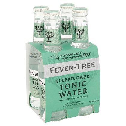 Fever-Tree Elderflower Tonic 4-pack