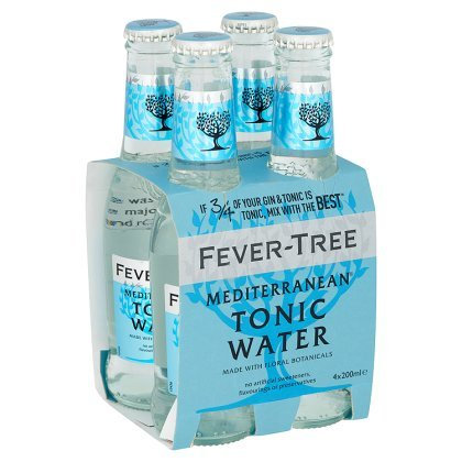 Fever-Tree Mediterranean Tonic 4-pack