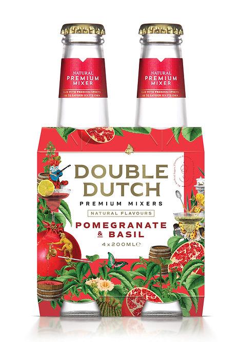Double Dutch Pomegranate & Basil 4-pack