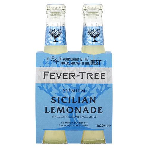 Fever-Tree Sicilian Lemonade 4x20cl pack