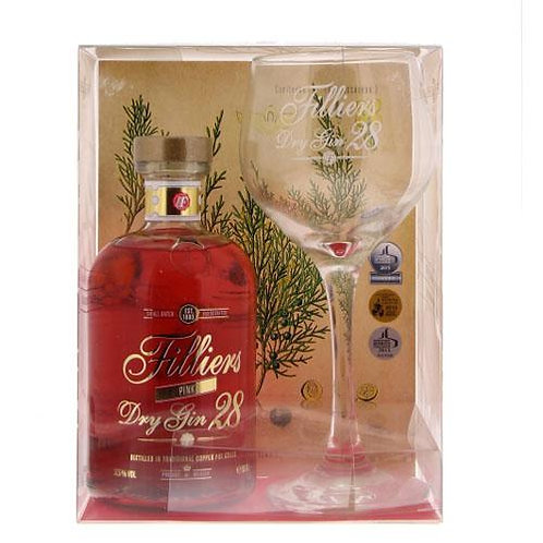 Filliers Dry Gin 28 Pink Giftpack