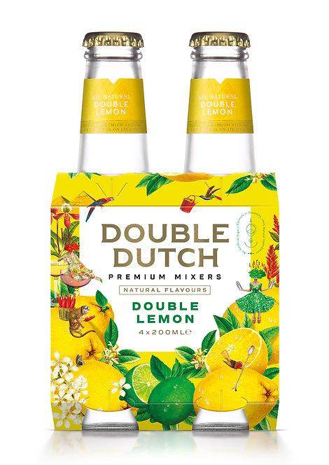 Double Dutch Double Lemon 4-pack