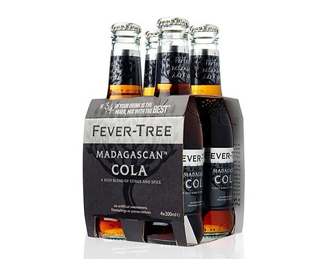 Fever-Tree Madagascan Cola 4x20cl pack