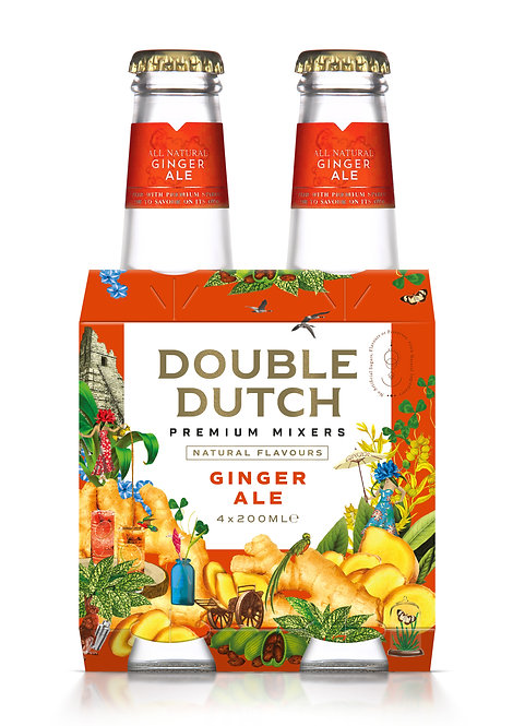 Double Dutch Ginger Ale 4-pack