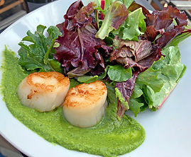 Charlies FB Scallops Arugula.JPG
