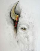 White Buffalo Calf Woman, by Arthur Short Bull