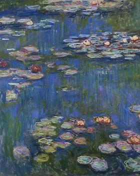 Claude Monet, Water Lilies, 1916, Nation