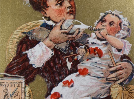 A Brief History of Baby Feeding