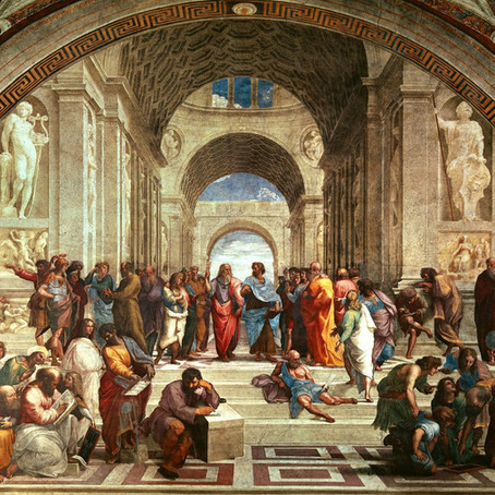 The Story of Rebirth - Raphael's School of Athens, European Renaissance and its Indian counterpart