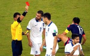 (2) A Numerologia dos jogadores expulsos na Copa do Mundo no Brasil