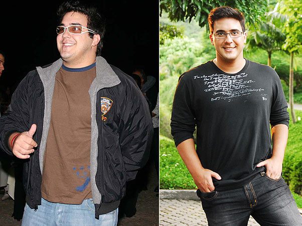 André Marques antes e depois