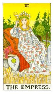 Imperatriz como Arcano do Dia