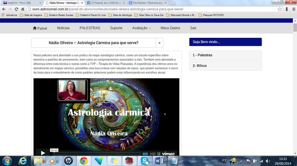 Astroconet Nádia Oliveira Astrologia Cármica