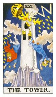 A Torre: por que essa carta simboliza situações bizarras e chocantes??