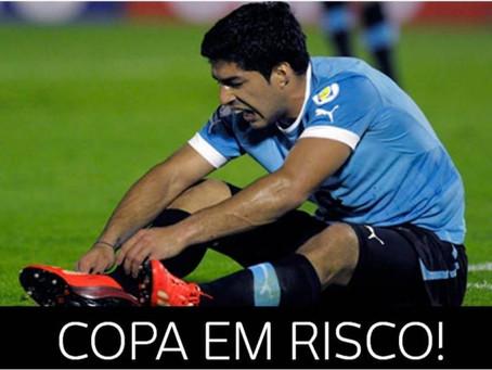 Copa do Mundo – Luis Suarez A crise e o rápido renascimento da Numerologia do 5