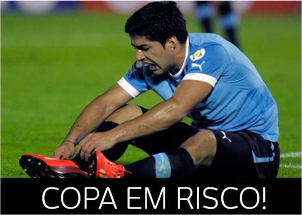 Suarez Copa em Risco