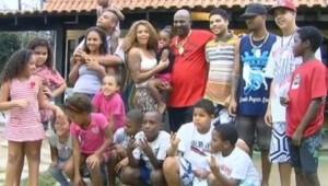 Mr Catra e os filhos