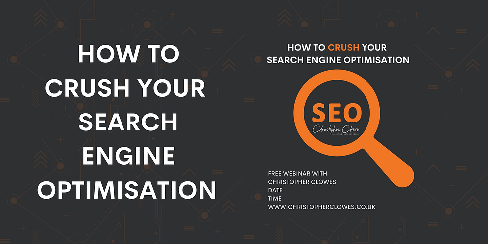 How To Crush Your Search Engine Optimisation
