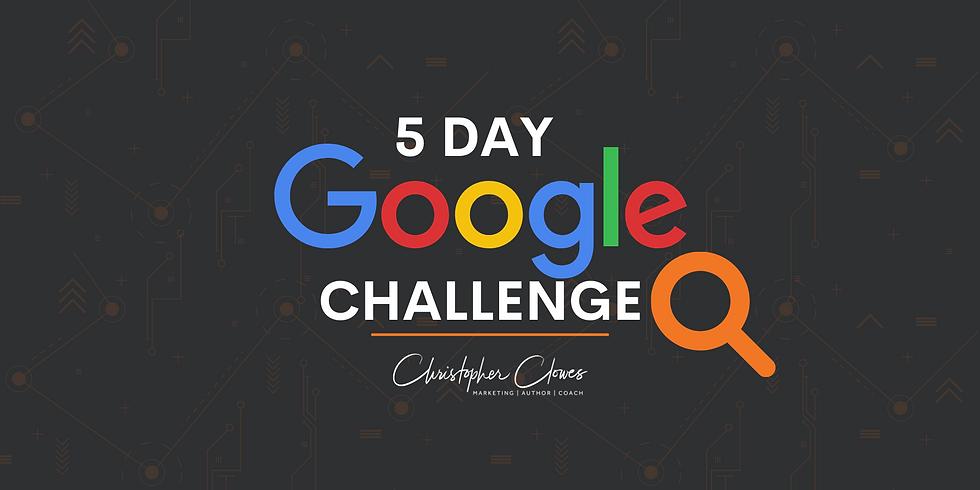 5 Day Google Challenge